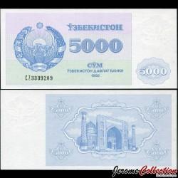 OUZBEKISTAN - Billet de 5000 Som - Médersa - 1992 P71a