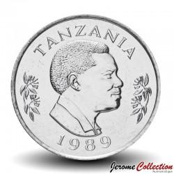 TANZANIE - PIECE de 50 Senti - Lapin - 1989