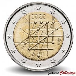 FINLANDE - PIECE de 2 Euro - Université de Turku - 2020 Km#new