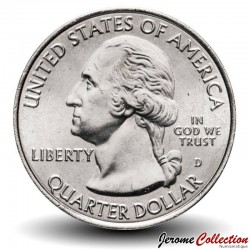 ETATS UNIS / USA - PIECE de 25 Cents - America the Beautiful - Parc national des Arches - Utah - 2014 - D