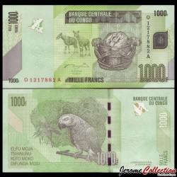 CONGO - BILLET de 1000 Francs - 2013