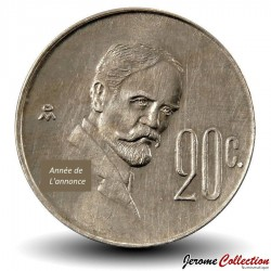 MEXIQUE - PIECE de 20 Centavos - Francisco Madero - 1982 Km#442