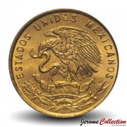 MEXIQUE - PIECE de 1 Centavo - Epi de blé - 1964
