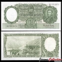 ARGENTINE - Billet de 50 Pesos - 1963 P271c4