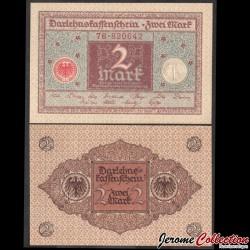 ALLEMAGNE / DARLEHENSKASSENSCHEINE - Billet de 2 Mark - 1920 P60a