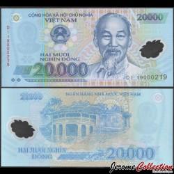 VIETNAM - Billet de 20000 Dong - Polymer - 2019 P120j