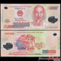 VIETNAM - Billet de 200000 Dong - Polymer - 2018 P123i