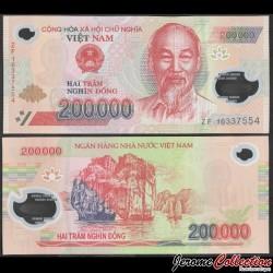 VIETNAM - Billet de 200000 Dong - Polymer - 2016 P123g