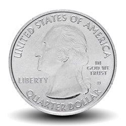 ETATS UNIS / USA - PIECE de 25 Cents - America the Beautiful - Site Frederick Douglass - Washington DC - 2017 - D