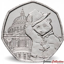 ROYAUME UNI - PIECE de 50 Cents - Paddington à la cathédrale St Paul - 2019 Sp#H67