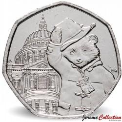 ROYAUME UNI - PIECE de 50 Pence - Paddington à la cathédrale St Paul - 2019 Sp#H67