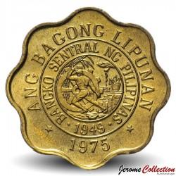 PHILIPPINES - PIECE de 5 Sentimo - Melchora Aquino - 1975
