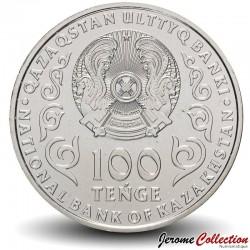 KAZAKHSTAN - PIECE de 100 Tenge - 25e anniversaire de l'Assemblée du peuple du Kazakhstan - 2020