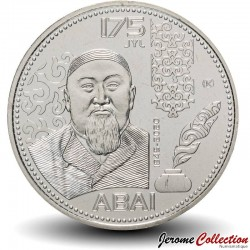 KAZAKHSTAN - PIECE de 100 Tenge - 175e anniversaire d'Abai Qunanbaiuly - 2020 Km#new