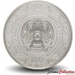KAZAKHSTAN - PIECE de 100 Tenge - 175e anniversaire d'Abai Qunanbaiuly - 2020