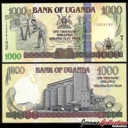 OUGANDA - Billet de 1000 Shillings - Silo à grains - 2005 P43a
