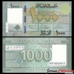 LIBAN - Billet de 1000 Livres - 2016 P90c