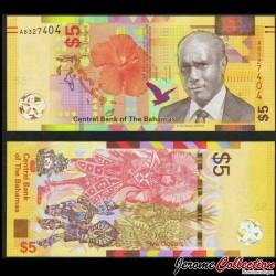 BAHAMAS - Billet de 5 Dollars - Danse Junkanoo - 2020 P78a