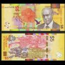 BAHAMAS - Billet de 5 Dollars - Danse Junkanoo - 2020