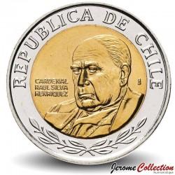 CHILI - PIECE de 500 Pesos - Raúl Cardinal Silva Henríquez - 2012 Km#235