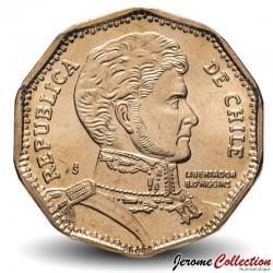 CHILI - PIECE de 50 Pesos - Bernardo O'Higgins Riquelme - 1999 Km#219