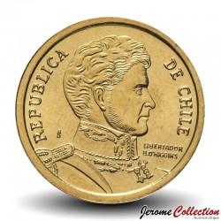 CHILI - PIECE de 10 Pesos - Bernardo O'Higgins Riquelme - 1998