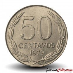 CHILI - PIECE de 50 Centavos - Condor - 1979