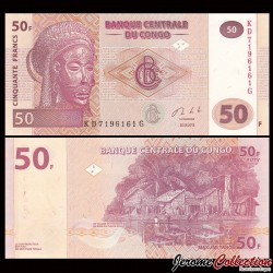 CONGO - Lot de 10 BILLETS de 50 Francs - HM - 2013