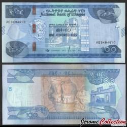 ETHIOPIE - Billet de 100 Birr - Forteresse Fasil Ghebi - 2020 P55a