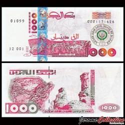 ALGERIE - Billet de 1000 Dinars - Commémoratif - 60e ans de la Ligue arabe - 2005 P143a