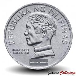 PHILIPPINES - PIECE de 10 Sentimo - FAO - Poisson Gobie - 1987