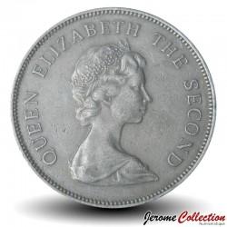 TUVALU - PIECE de 50 Cents - Pieuvre - 1985