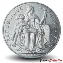TAHITI / POLYNÉSIE FRANÇAISE - PIECE de 5 Francs - 2020