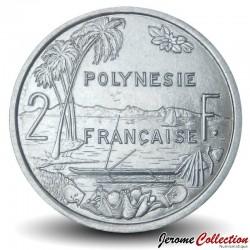 TAHITI / POLYNÉSIE FRANÇAISE - PIECE de 2 Francs - 2020 Km#10