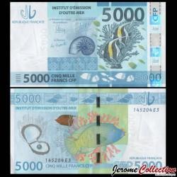 Territoires Français du Pacifique - Billet de 5000 Francs - 2014 P7a