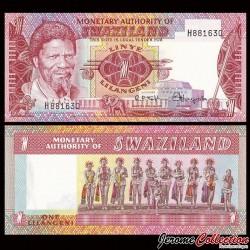 SWAZILAND (Eswatini) - Billet de 1 Lilangeni - 1974 P1a