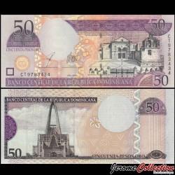 REPUBLIQUE DOMINICAINE - Billet de 50 PESOS ORO - 2003 P170b