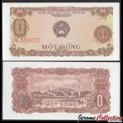 VIETNAM - Billet de 1 Dong - Usine - 1976 P80a