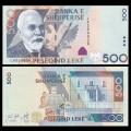 ALBANIE - Billet de 500 Leke - Ismail Qemali - 2015 P72b