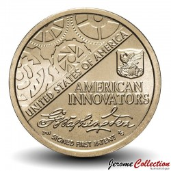 ETATS UNIS / USA - PIECE de 1 Dollar - American Innovation - 2018 Km#new