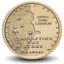 ETATS UNIS / USA - PIECE de 1 Dollar - Industrie et l'innovation - Classification des étoiles - Delaware - P - 2019