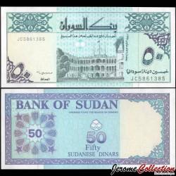 SOUDAN - BILLET de 50 Dinars Soudanais - 1992 P54c