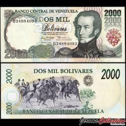 VENEZUELA - Billet de 2000 Bolivares - 6.8.1998 P77c