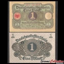 ALLEMAGNE / DARLEHENSKASSENSCHEINE - Billet de 1 Mark - 1920 P58a