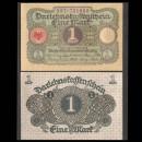 ALLEMAGNE / DARLEHENSKASSENSCHEINE - Billet de 1 Mark - 1920
