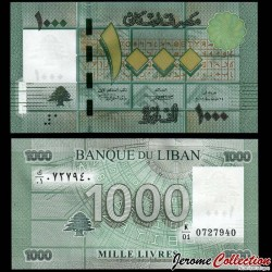 LIBAN - Billet de 1000 Livres - 2011 P90a