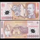 ROUMANIE - Billet de 100000 Lei - Nicolae Grigorescu - Polymer - 2001 / 2004