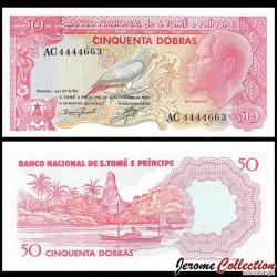 SAO TOMÉ-ET-PRINCIPE - Billet de 50 Dobras - Perroquet gris - 1982 P56e