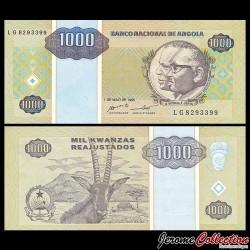 ANGOLA - Billet de 100000 Kwanzas Reajustados - 1995