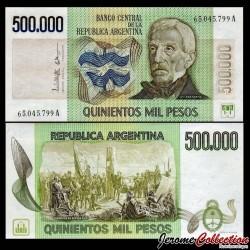 ARGENTINE - Billet de 500000 Pesos - 1981 P309a2